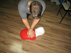 CPR-Chest-Compressions