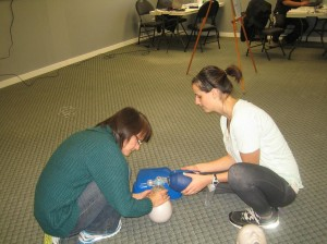 Two-person-CPR-Ventilations-bag-valve-mask